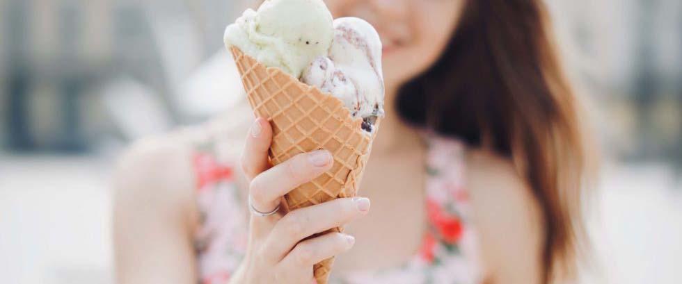 Receta helado de chocolate blanco y KremyBombón