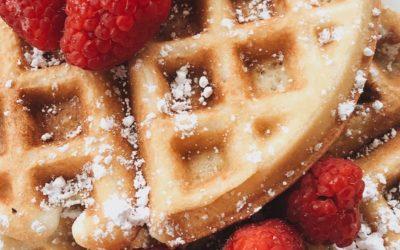 Una receta infalible para el fin de semana. ¡Gofres sin azúcar!