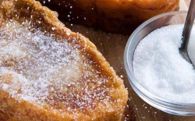 Receta tradicional de deliciosas torrijas versión El Patriarca.